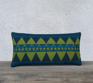 blue and green triangles preview