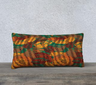 "Abstract Animal Stripes 24"" x 12"" Decorative Pillow Case preview"