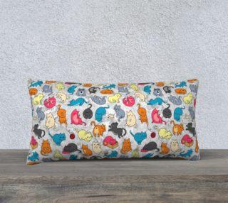 Aperçu de Colorful Funny Cute Kitty Cats Pattern
