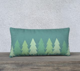 Long tree pillow preview