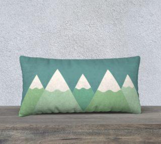Long mountain pillow case preview