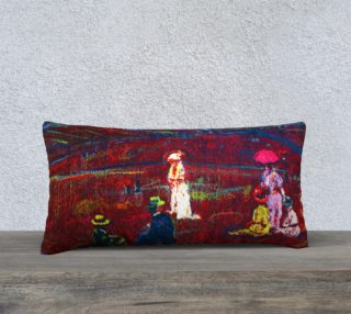 Aperçu de Foxfire Hill Pillow Case (w/deluxe fashion-surface detail.)