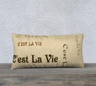 Coffee C'est la Vie Pillow Case Style2 preview