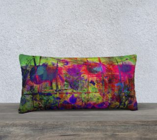 Sunflower Fantasy 24 x 12 Pillow preview