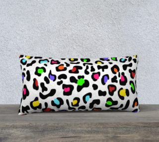 """Lovely Leopard Pillow 24""""x12"""" preview"""