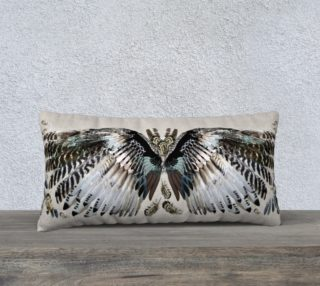 Wings pillow preview