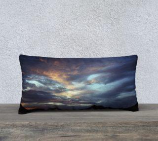 Ocean Sunset Pillow Cover Long preview