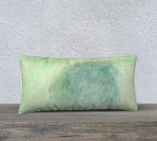 Green Dimension Flower Pillowcase Style2 preview