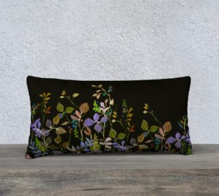 Midnight Garden 24 x 12 Pillow preview