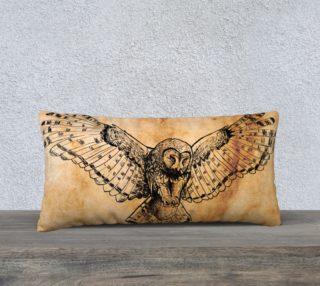 Aperçu de Drawn Flying Owl Design