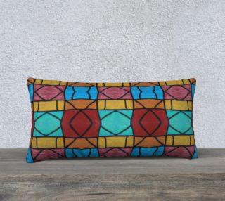 Pueblo Diamond Mosaic Pillow 24x12 preview