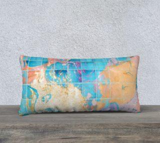 Mosaic Paint Spill Pillow 24X12 preview
