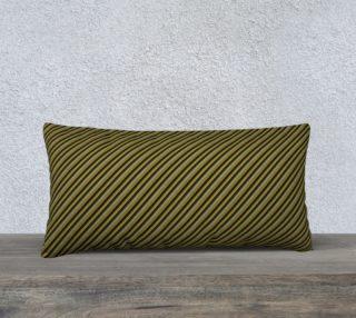Aperçu de Large Lumbar Pillow Case Inspired by War Admiral