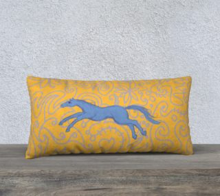 Jumping Pony Pillow 24 x 12 case only preview