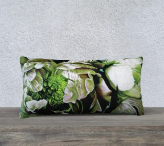 "Peony Ridin' Pillow III-12""x24"" Pillow Case preview"