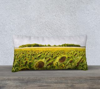 """Field of Dreams III-24""""x12"""" Pillow Case preview"""