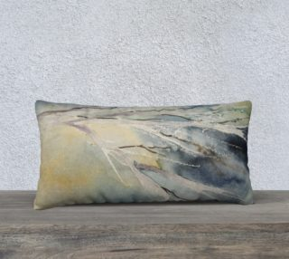 Aperçu de Lumbar Pillow of Winter Branches