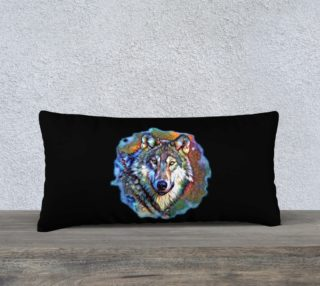Aura of the Wolf-Portal Frame Pillow Case preview