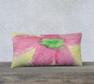 Pink Flower Blossom Pillow Case Style2 preview
