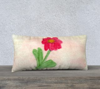 Red Daisy Pillow Case Style2 preview