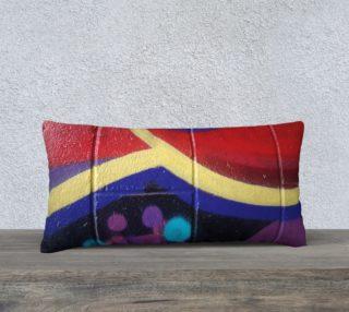 Sassy Graffiti Pillow preview