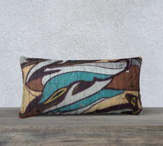 Urban Graffiti Pillow preview