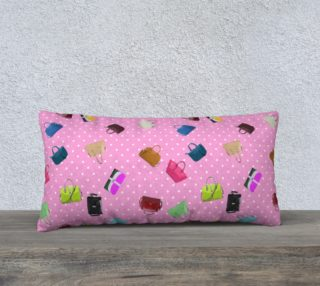 Purses, Polka Dots and Pink Background    preview
