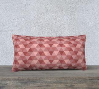 Aperçu de Coral Pink Geometric Triangles