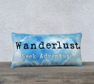 Wanderlust. Seek Adventure Pillowcase preview