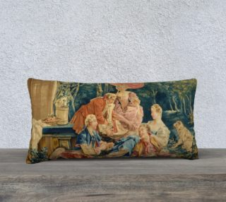 Pastoral Picnic Pillow IV preview