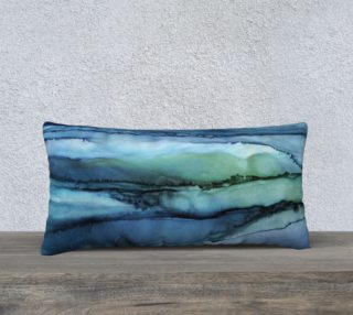 Blue Pools Pillow preview