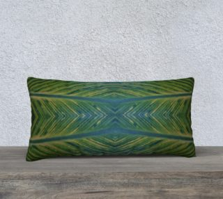 Leaf pillow case 24x12 preview