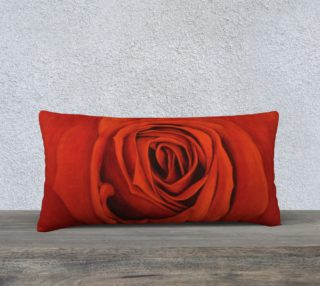 """Seeing Red 24""""x12"""" Pillow Case preview"""