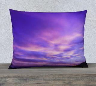 26x20 Purple Sunrise Pillow Case preview