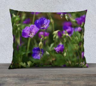Purple Cranesbill 26x20 Pillow Case preview