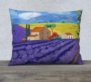 Lavender Farm Pillow Case 26x20 preview