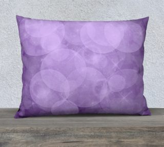 Purple Bubbles Pillow Case 26x20 preview