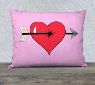 Struck by Cupid's Arrow Pillow Case - 26 preview