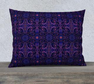 Aperçu de Curves & lotuses abstract pattern in ultra violet
