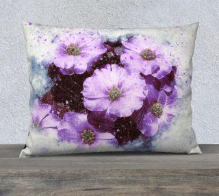Six Purple Flowers 26 x 20 Pillow Case preview