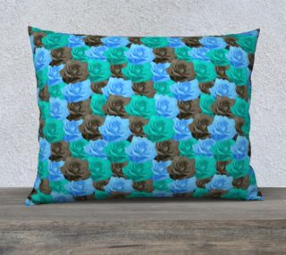 """Blue Roses Pillow Case - 26""""x20"""" preview"""