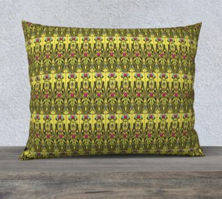 Yellow Nouveau 26 x 20 Pillow Case preview