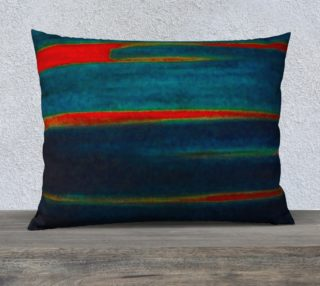 Meteor Trails Pillow 26x20 preview