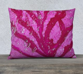 Pink Coral With Metallic Highlights Alcohol Ink Art  preview
