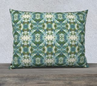 Blue and Green Ikat 1 Mock Floral preview