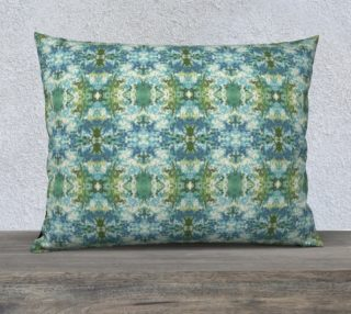 Mock Floral Blue and Green Ikat 2 preview