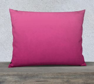 Many Shades of Pink Pillow Case 26 x 20 preview
