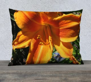Screamsickle daylily pillow  preview