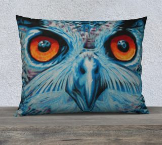 Owl Eyes Pillow Case aperçu