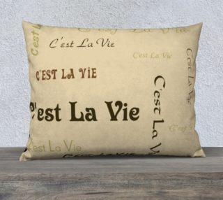 Coffee C'est la Vie Pillow Case Style3 preview